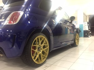 500 ABARTH YAMAHA FACTORING RACING JAPAN RACING ORO